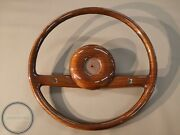 Mercedes W110 Wood Steering Wheel Early Version Pagoda W113 W111 W110 Finntail