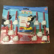 Wilton Mickey Mouse Clubhouse Candle Cake Topper Set