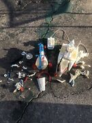 Vintage Mego Micronauts Hydro Copter And Battlecruiser Lot For Parts As Is 1976-77