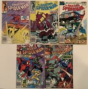 Spiderman 5x Issue Lot, Amazing Spiderman 267 292 Annual 23, Web Of 66 67 Marvel