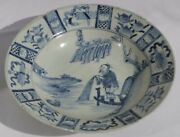 Wanli Reign Chinese Blue And White Plate