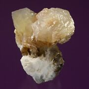 Witherite With Calcite Cave-in-rock, Hardin County, Illinois 907014 Fluorescent