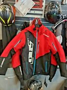 509 Five O Nine R-series 5 Tech Fully Lined Jacket With Removable Hood In Red