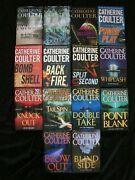 Lot Of 14 Catherine Coulter Fbi Series First Editions