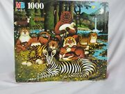 Vintage Charles Wysocki's Americana 1000 Pc Puzzle Animals In The Woods 4679-4