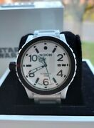 Nixon Ceramic Automatic Diplomatic Watch Star Wars Stormtrooper Limited Edition