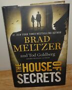 The House Of Secrets Collectible Signed 1st Ed/1st Hc By Brad Meltzer/tod Gold