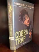 Cobra Trap By Peter Oand039donnell 1996 - Signed 1st Ed - Modesty Blaise Mystery