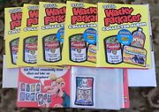 2006 Wacky Packages Collector Album X 6 - Barely Used - Includes Bonus Card