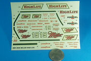 Ho 187 Ertl Miller High Life Beer Pennzoil Decals Trains Gas Stations And Stores