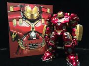 King Arts Hulkbuster + Mark 43 New Never Displayed Diecast Not Hot Toys