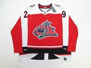 Columbus Blue Jackets Authentic Adidas Reverse Retro Any Name / Number Jersey