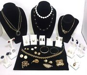All Trifari Signed Vintage Lot 25 + Pieces High End Jewelry Lot Crown Trifari
