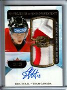 2011-12 The Cup Emblems Of Endorsement Eric Staal Patch Auto /15 - Team Canada