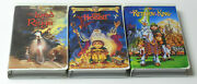 Lord Of The Rings And Hobbit Vhs Animated Trilogy Tested Ralph Bakshi Rankin Bass