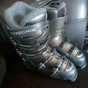 Rossignol Saphir Cockpit Womens Thermo Fit Downhill Ski Boots Size 24.5 7.5