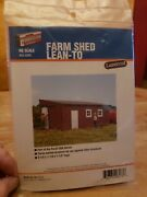 Ho 1/87 Scale Walthers 933-3342 Farm Shed Lean-to Building Kit New Sealed