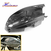 Carbon Fiber Motorcycle Transmission Cover Protector For Vespa Gts 250 300 17-20
