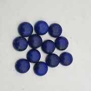 160 Ct Natural Lapis Lazuli Round Cabochon Gemstone Lot 23 Pcs 12 Mm
