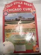 2000 Old Style Chicago Cubs Bat At Wrigley Sweepstakes Poster