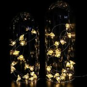 Honeybee Decorative String Lights Led Usb Plug In Copper Wire Bee Fairy Lights