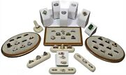 Vintage High End Costume Jewelry Lot Rings Sterling Silver Bling Precious Stones