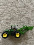 John Deere Green Tractor 10.5 W Front End Loader Rear Hitch 132 Used Plastic