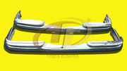 Mercedes W108/w109 1965-1972 Stainless Steel Bumpers Polished S304 - Never Rust.