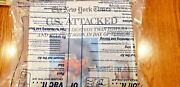 9 Us Attacked September 11 - New York Times 9/12 Newspapers. Lot Of 9 Sealed
