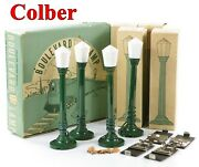 Colber Boulevard Lamps Set-of-four Plastic + Outer/inner Boxes And Lockons