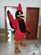Red Eagle Mascot Costume Cosplay Dress Outfits Advertising Halloween Fursuit