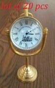 Desk Clock Collectible Office And Home Desktop Decorative Gift
