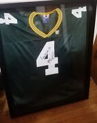 Brett Favre And Reggie White Green Bay Packers Autographed Jersey W/coa
