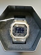 Casio G-shock Digital Stainless Steel Resin Band Gmwb5000-1