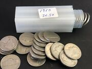 Roll 1950 P Jefferson Nickels Circulated