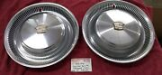 And03974-76 Cadillac Hubcaps Wheel Cover Deville Fleetwood Calais H2015 15 2
