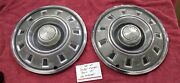 1968 1969 Dodge Charger Dart 14 Inch Hubcaps Wheel Covers Pair Of 2 H328
