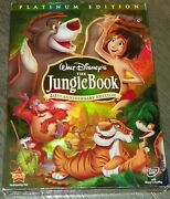 The Jungle Book 40th Ann. Edition - Dvd - Disney Banned Classic New/sealed