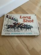 Rare Vintage Long Shot By Parker Brothers Board Games 1962 Horse Racing