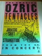 Ozric Tentacles The Missing Link-jurassic American Tour 1993 Autographs [mx