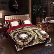 2020explosion High-end Four-piece Digital Printing High-end Bedding Retro Palace