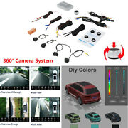 3d 360anddeg Panoramic Backup Reverse Camera Dvr Front Rear And Side View Diy Car Model