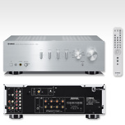 Yamaha A-s501 Integrated Amplifier 192khz 24bit Compatible Silver From Japan