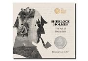 Sherlock Holmes 2019 50p - Royal Mint Unopened And Sealed Packaged Coin