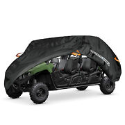 Neverlnad Oxford Utility Vehicle Storage Cover Outdoor For Yamaha Viking Vi Eps