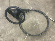 1998 Bayliner Capri 1950 Steering Wheel With Rack And 15ft Cable
