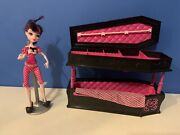 Monster High Draculaura Doll With Coffin Bed Jewelry Box