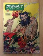 Dynamic Comics 20 Key 1946 Solid G/vg Bare Breasted Woman Covhard To Find