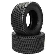 Set Of 2 24x9.50-12 Turf Tires For Garden Tractor Lawn Mower Riding Mower 1500lb