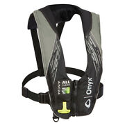 Onyx A/m-24 Series All Clear Automatic/manual Inflatable Life Jacket - Grey -